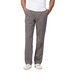 Maine New England - Grey regular fit chinos
