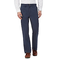 Maine New England - Big and tall blue chino trousers