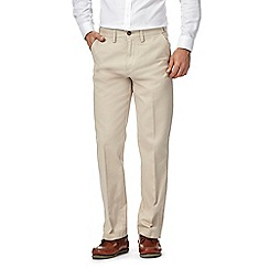 Maine New England - Natural Tailored Cotton Chino Trousers