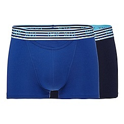 HOM - Pack of two blue striped boxer briefs