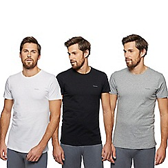 Diesel - Pack of three assorted crew neck t-shirts
