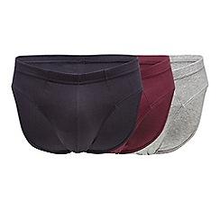 Debenhams - 3 pack assorted cotton slips