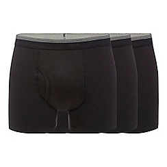 The Collection - Pack of three black trunks
