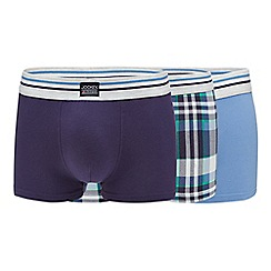 Jockey - 3 pack assorted plain and checked trunks