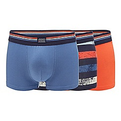 Jockey - 3 pack assorted plain and printed trunks