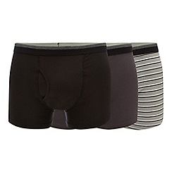 The Collection - 3 pack assorted plain and striped keyhole trunks