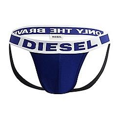 Diesel - Blue cotton modal jockstrap