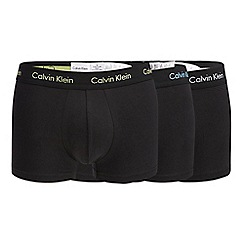 Calvin Klein - 3 pack black trunks