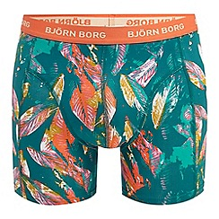 Bjorn borg - Green leaf print trunks