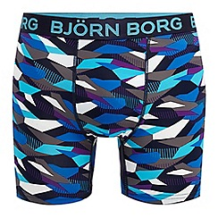Bjorn borg - Multi-coloured printed athletic fit performance boxers