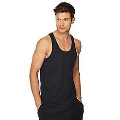 Calvin Klein - Set of 2 black regular fit tank tops