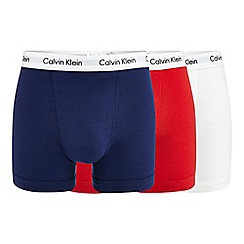 Calvin Klein - Pack of three assorted trunks