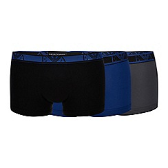 Emporio Armani - 3 pack assorted trunks