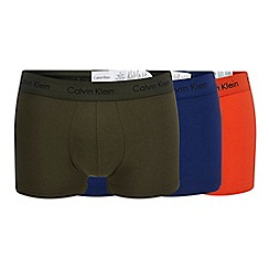 Calvin Klein - 3 pack assorted low rise trunks