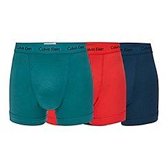 Calvin Klein - 3 pack assorted trunks