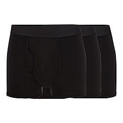 The Collection - 3 pack black keyhole trunks