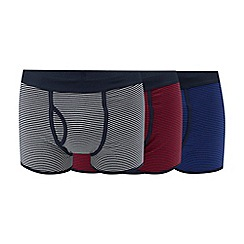 The Collection - 3 pack assorted striped keyhole trunks