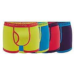 Red Herring - 4 pack assorted keyhole trunks