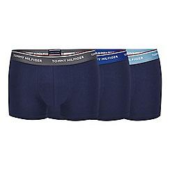 Tommy Hilfiger - 3 pack navy boxer trunks