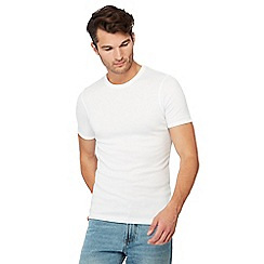 Maine New England - 2 pack white brushed thermal t-shirts