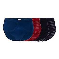 The Collection - 4 pack assorted printed briefs
