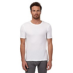Maine New England - White short sleeved thermal top