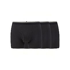 The Collection - Pack of three black keyhole trunks