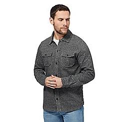 Mantaray - Big and tall dark grey jersey shirt