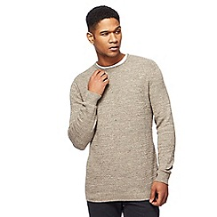 Mantaray - Natural blue textured jumper