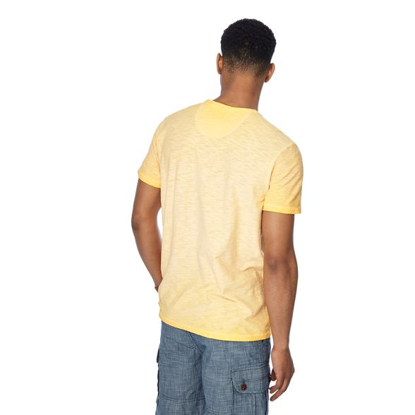 oil Mantaray orange tall shirt t and neck wash notch light Big wXqRXf7O
