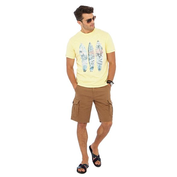 print t Yellow Mantaray surfboard shirt qE64XaZw