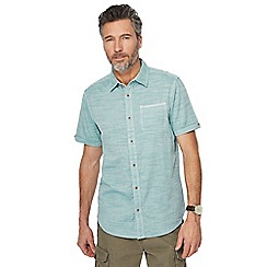 Mantaray - Big and tall light green shirt