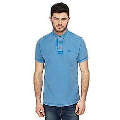 Mantaray - Blue polo shirt