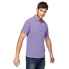 Mantaray - Purple polo shirt