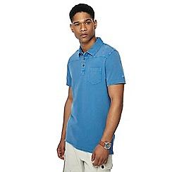 Mantaray - Blue polo shirt