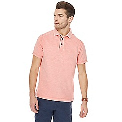 Mantaray - Big and tall pale pink polo shirt