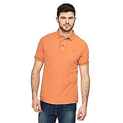 Mantaray - Big and tall dark orange polo shirt
