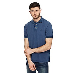 Mantaray - Mid blue polo shirt