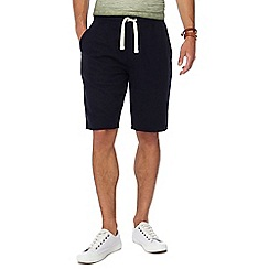Mantaray - Big and tall navy jersey shorts