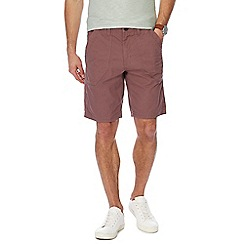 Maine New England - Big and tall light pink regular fit shorts
