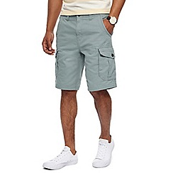 Maine New England - Big and tall light blue cargo shorts