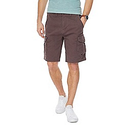 Mantaray - Brown cargo shorts