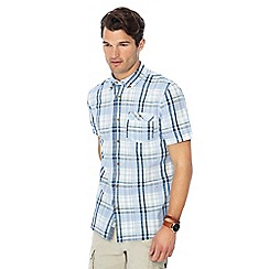 Mantaray - Green checked short sleeve shirt
