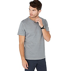 Mantaray - Grey notch neck t-shirt