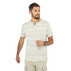 Mantaray - Off-white notch neck t-shirt