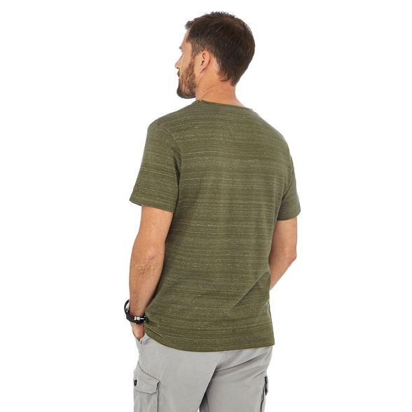 neck notch Khaki t Mantaray shirt wqOHpCxU