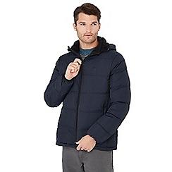 Mantaray - Big and tall navy padded coat
