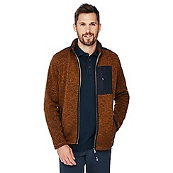Mantaray - Brown knit look jacket