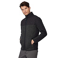 Mantaray - Dark grey quilted jacket