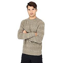 Mantaray - Natural stripe knit cotton jumper